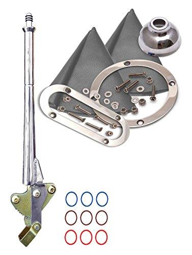 American Shifter 493557 8 727 Shifter E Brake Trim Kit for ECAE6