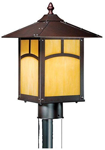 Vaxcel One Light Outdoor Post TL-OPU090EB One Light Outdoor Post