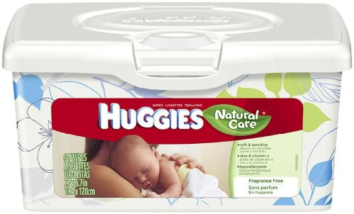 Huggies Natural Care Baby Wipes 64 CT (Pack of 24) by HUGGIES