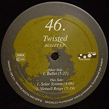 Twisted - Twisted / Bullet EP - Amazon com Music