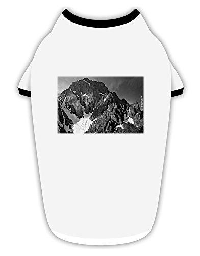 - TOOLOUD San Juan Mountain Range 2 Cotton Dog Shirt White with Black XL