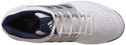 adidas Barricade Approach Str, Zapatillas de Tenis Unisex Adultos Blanco / Azul / Plateado (Ftwbla / Azumin / Plamat)