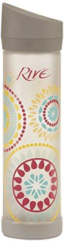 Rive Savoy Glass Water Bottle, 22-Ounce, - Glasses Amazon Kaleidoscope