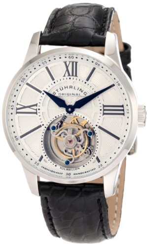Stuhrling Original Men's 366.331510 Tourbillon Viceroyale Limited Edition Mechanical Black Watch