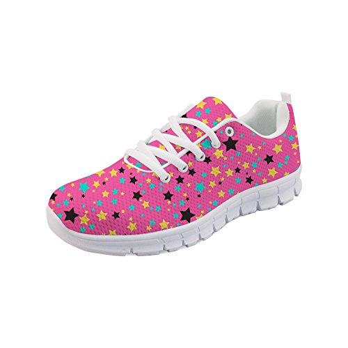 Mujer Showudesigns Color Para 3 Zapatillas rTE1rwq6