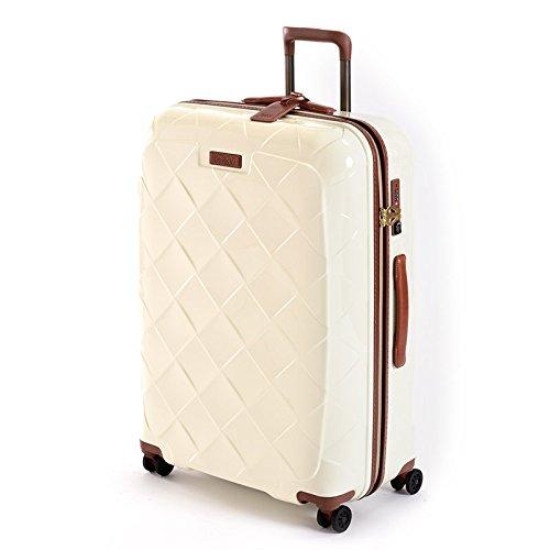 ストラティック レザー&モア Lサイズ 【71cm】| 大型スーツケース | 3-9902-75 B01MRFK7XG ミルク