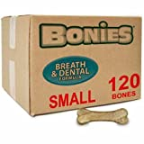 Cheap BONIES Natural Dental Health BULK BOX SMALL (120 Bones)