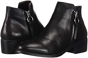 a0abc161419 Steve Madden Women's Dacey Ankle Boot, Black Leather, 7.5 M US ...