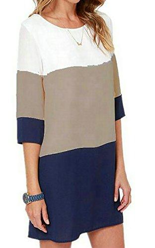 XS-XL Fashion Tunic Shirt Dress L6Nv4o@A Girls Short Sleeve Hockey Mom T-Shirts