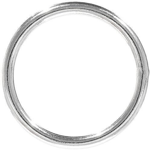 PARACORD PLANET Welded Steel O-Ring – 3/4 inch, 1 inch, 1 ¼ inch, 1 ½ inch – Multiple Pack Sizing - Webbing, Strapping, ()