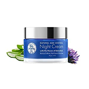 The Moms Co Natural Age Control Night Cream l Face Cream l Overnight Repair & firming l Reduce Fine Lines & Wrinkles l…