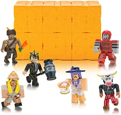 Roblox Series 4 - Roblox Series 5 Mystery Figure Six Pack