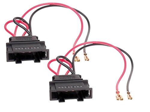 Lautsprecher Einbauset Ringe Adapter f/ür VW T5 165mm T/üren vorne