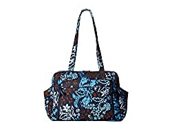 Vera Bradley Stroll Around Baby Bag Java Floral Diaper Bags