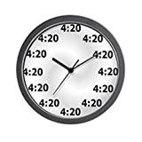 Cheap CafePress – 4:20 Wall Clock – Unique Decorative 10″ Wall Clock