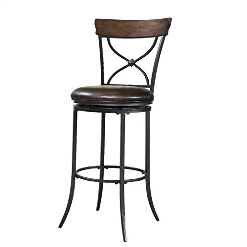 Swivel X-Back Stool (30 in. Bar Height)