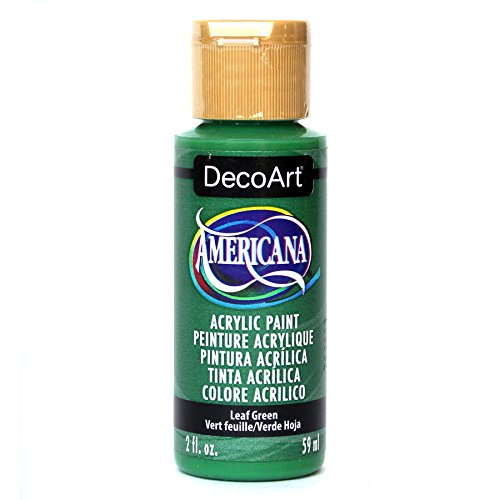 DecoArt Americana Acrylic Paint, 2-Ounce, Leaf Green Decoart Americana Acrylic Paints