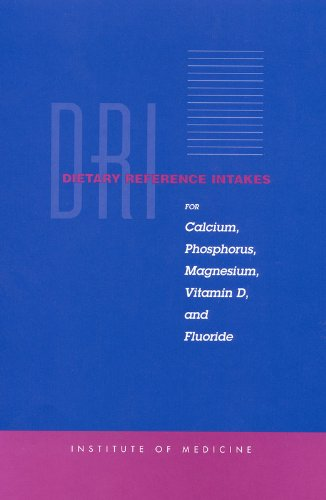 Dietary Reference Intakes for Calcium, Phosphorus, Magnesium, Vitamin D, and Fluoride (Magnesium Green Vitamins Foods)