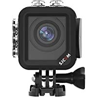 SJCAM M10 1080P WIFI Action Camera 1.5inch LCD Mini Waterproof Underwater Camera 166 Degree Wide-angle Sports Camcorder - Black