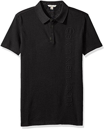 Calvin Klein Hemden Deboss Logo Polo Herren