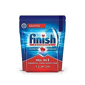 Finish All in 1 Dishwasher Detergent Tablets, Original, 56 Tablets