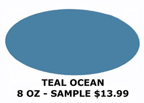 Chalked Finish Paint (Teal Ocean 8oz Sample)