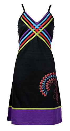 Femmes Robe d'été avec coloré et design Imprimer
