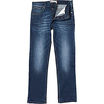Mens French Connection IND23 Reg Denim Jeans IND23 Midwash Guys