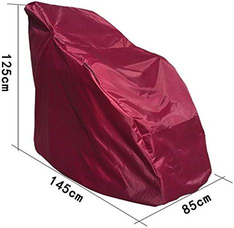 防水カバーガー ガーデン家具カバー 防水カバー 日焼け止め布 家庭 マッサージチェアカバー 防塵 折りやすく 複数のサイズ シバオ (Color : B, Size : 145X85X125CM)