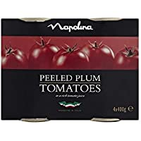 Napolina ciruela tomates 4x400g
