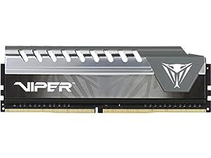 Patriot Memory Viper Elite Series DDR4 4GB 2400MHz (PC4-19200) Single Module (Black/Grey) - PVE44G240C6GY