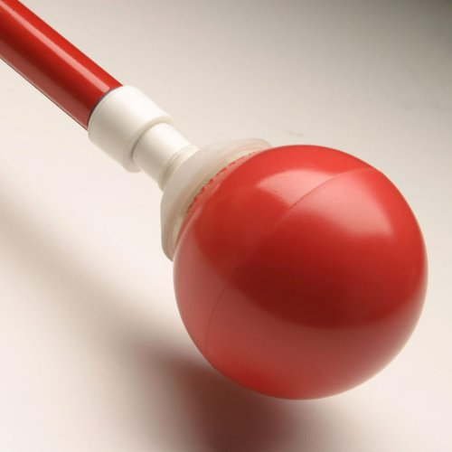 Ambutech Rolling Ball Tip- Hook Style -Red