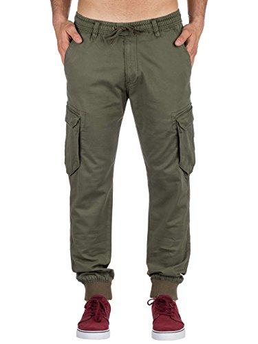 Reflex Olive Rib Reell Reflex Pantalon Reell qawU0xn4