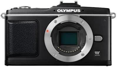 Olympus Pen E-P2 Micro 4/3 Digital Camera Body (Black)
