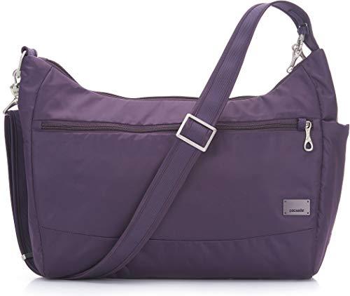 PacSafe Women's Citysafe Cs200 Anti-Theft Handbag-Mulberry Travel Cross-Body Bag, One Size