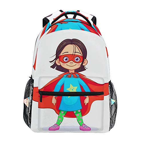 CANCAKA Brave Girl Superhero Costume Stands Firm 16