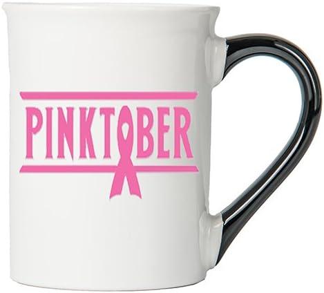 Cancer Awareness Mug; Pinktober; Cancer Awareness Coffee Cup By Tumbleweed