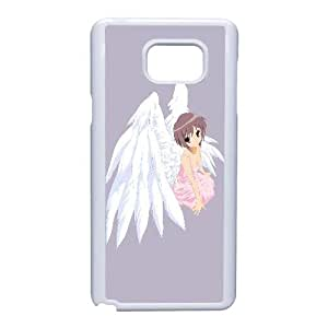 Special Design Cases Samsung Galaxy Note 5 Cell Phone Case White Dddie yuki nagato haruhi suzumiya anime Durable Rubber Cover