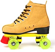 Beginner Inline Skates for Adults, Club Recommendation Outdoor Four-Wheel Roller Skate, Classic High-top Rolle
