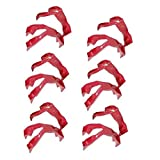 Gallity 12Pack Trongs Finger Food Utensils,Finger Covers for Cheesy, Greasy, Sticky Fingers