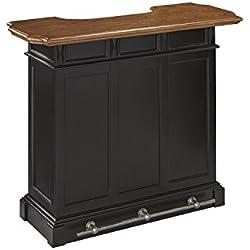 Home Styles Model 5003-99 Black and Oak Finish Americana Bar