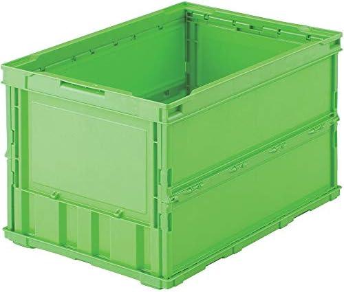 [スポンサー プロダクト]TRUSCO(トラスコ) 薄型折りたたみコンテナ 50L 緑 TR-O50B-GN