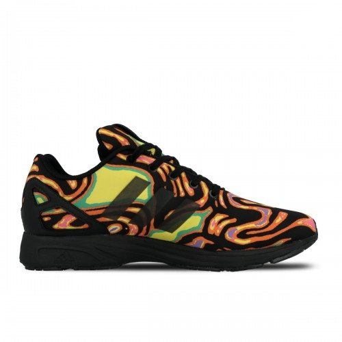 Adidas Originals Jeremy Scott Mens Zx Flux Tech Psykedeliska Sneakers S77841
