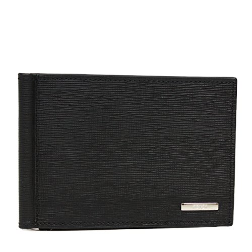 FENDI Card Case 'Crayons' Saffian Leather Men's Bi-fold Wallet 7M0190 302834