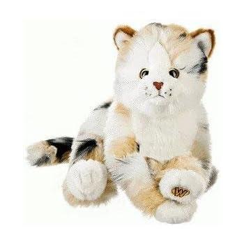 Amazon Com Webkinz Smaller Signature Grey Tabby Cat Toys