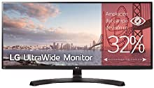 "LG 34UM88-P - Monitor Profesional UltraWide QHD de 86,36 cm (34"") con Panel IPS (3440 x 1440 píxeles, 21:9, 300 cd/m², sRGB >99%, 1000:1, 5 ms, 75 Hz) Color Negro"