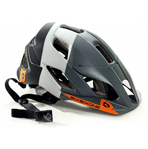 661 SixSixOne Evo Am Tres MTB Bicycle Helmet w/MIPS - GRAY - Extra Small/Small (XS/S) ()
