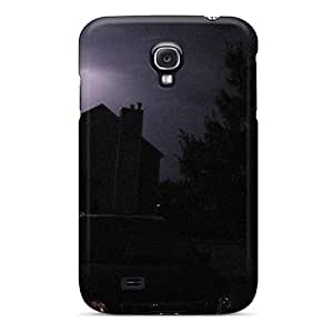 High Impact Dirt/shock Proof Case Cover For Galaxy S4 (lightning Storm)