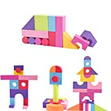 MOBU Soft Building Blocks Toys 50 Pieces Creative