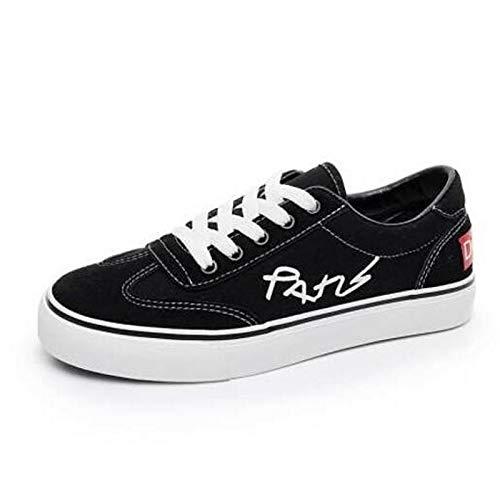 Blanco Negro Mujer tacón Primavera Plano Caucho ZHZNVX Zapatillas Verano pie del de Rosa Cerrado Comfort Dedo Black Zapatos HxqE64